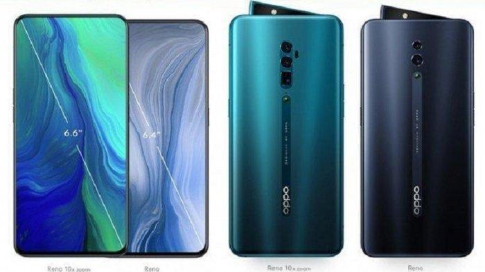 LENGKAP Bocoran Spesifikasi Oppo Reno 2, Resmi Dirilis Besok Kamis 29 Agustus 2019