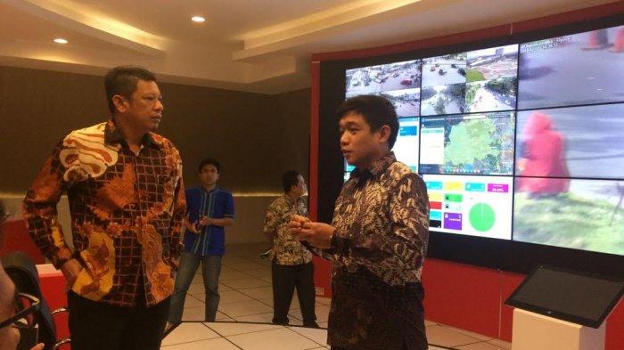 Wakil Wali Kota Bontang Pelajari Pengelolaan Aplikasi Smart City Pemkot Makassar