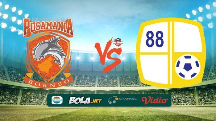 Link Live Streaming (Siaran Langsung) Video.com Borneo FC vs Barito Putera, Pukul 15.30 WIB