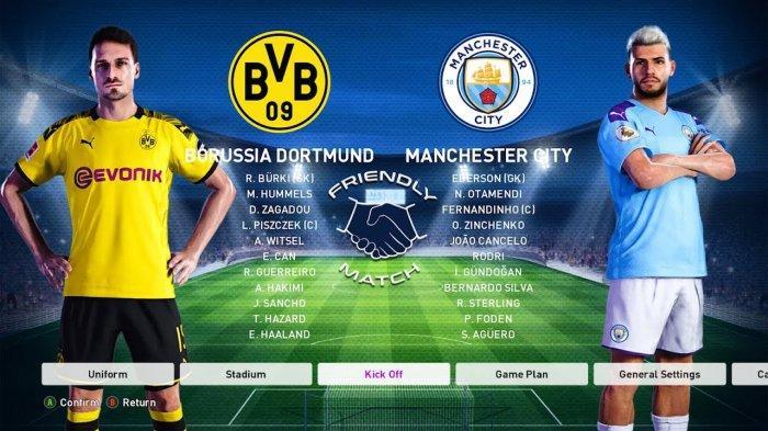 Nonton TV Online 3 Link Live Streaming Liga Champions Dortmund vs Man City - Nonton Gratis di HP