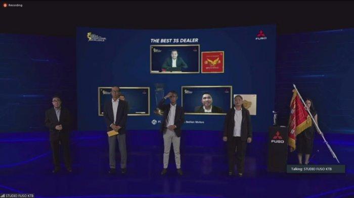 Bosowa Berlian Raih Penghargaan The Best 3S Dealer di Mitsubishi FUSO Dealer Annual Convention 2021