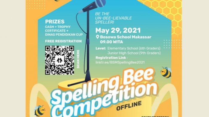 Daftar Yuk, Bosowa School Makassar Gelar Spelling Bee Competition Tingkat SD dan SMP