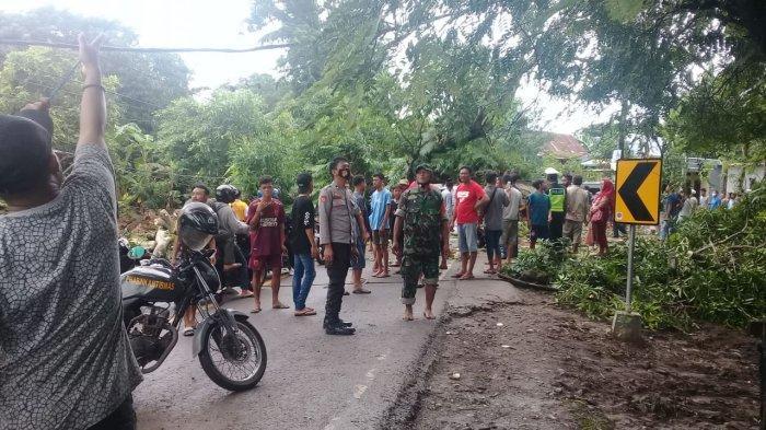 5 Pohon Tumbang, 1 Rumah Rusak di Takalar