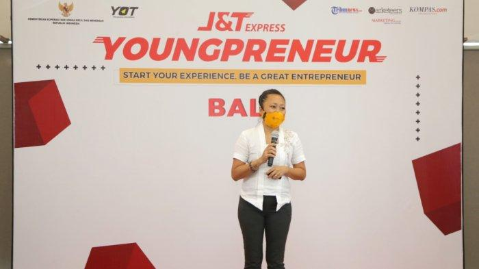 Brand Manager J&T Express, Herline Septia