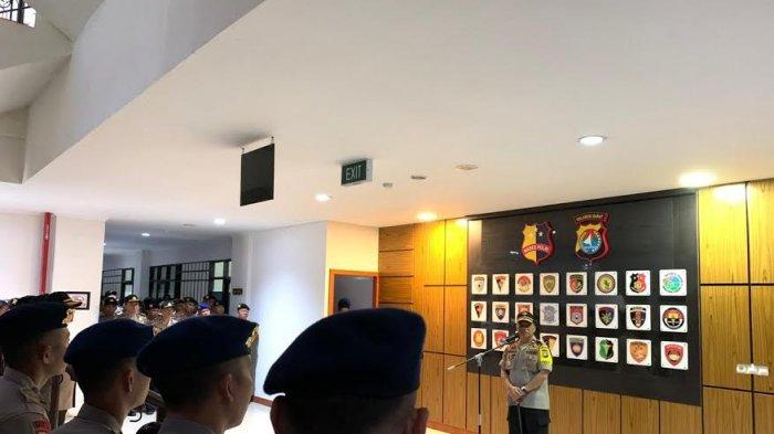 Brigjen Pol Baharudin Djafar Sampaikan Sambutan Perpisahan ke Personel Polda Sulbar