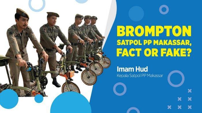 Maaf Kasatpol PP Makassar karena Anggotanya Naik Sepeda 'Sultan' Brompton, Foto Itu Benar!
