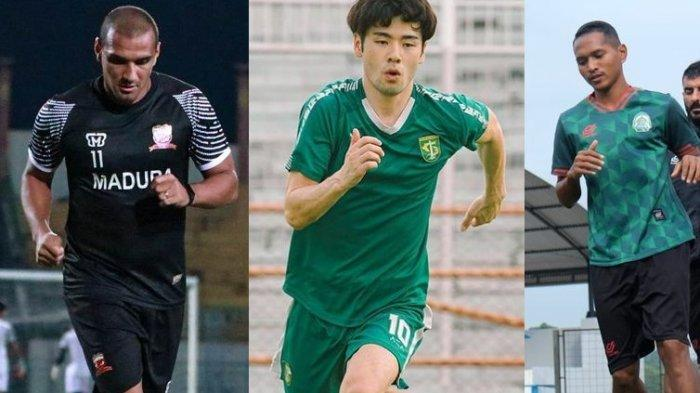 Bursa Pemain Liga 1 2021 - MU Lepas Bruno Lopes, Taisei Marukawa ke Persebaya, Abduh Lestaluhu Out