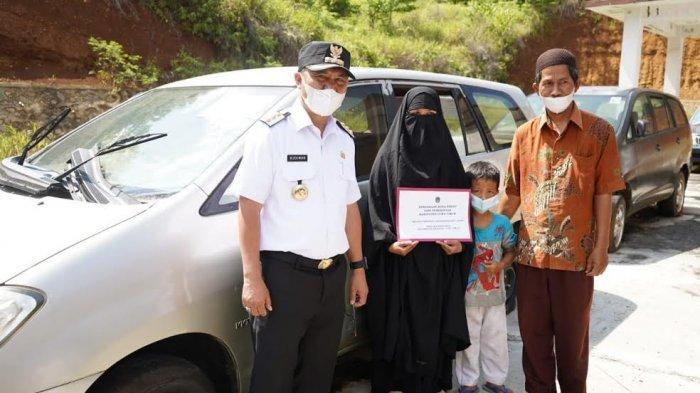 Pengurus Yayasan di Luwu Timur Dapat Kendaraan Bekas
