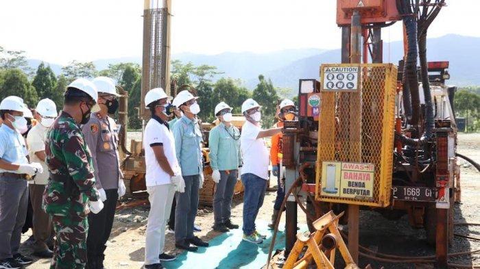 PT Vale Bangun Bundaran Batara Guru di Malili, Bakal Jadi Ikon Baru di Luwu Timur