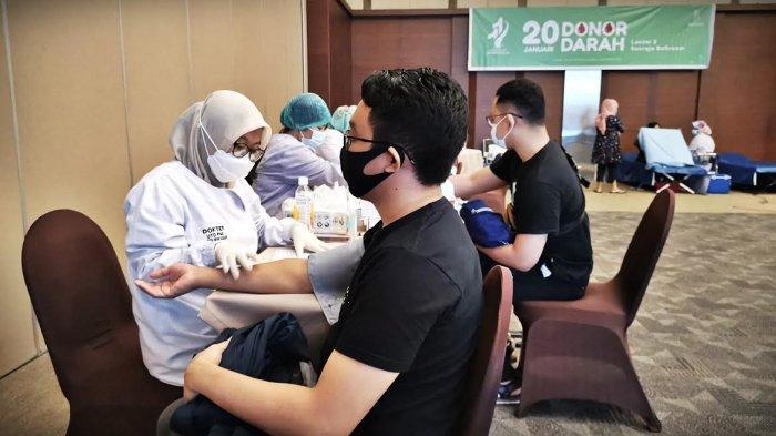 FOTO: Donor Darah HUT ke-11 Wisma Kalla Kumpulkan 110 Kantong Darah