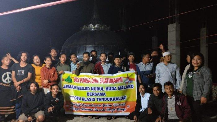 Indahnya Toleransi di Mamasa, Umat Kristiani Buka Puasa Bersama Remaja Masjid