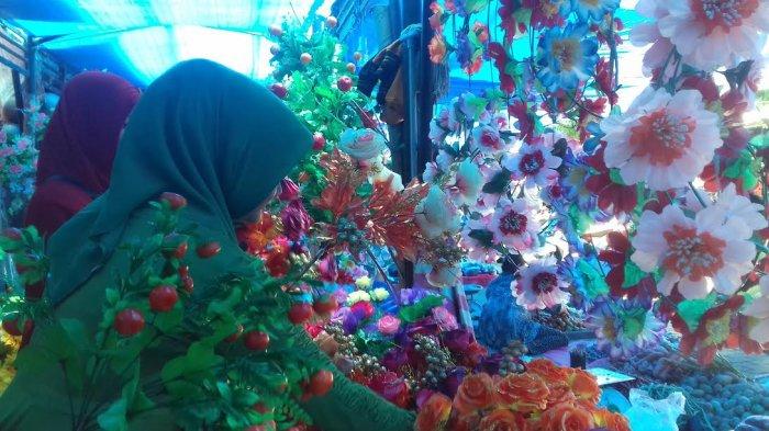 Bunga Maulid Ramai Di Pasar Sentral Pangkep Tribun Timur