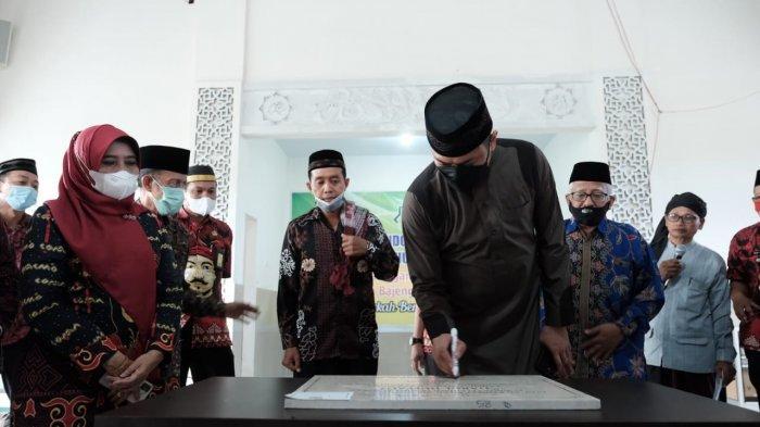 Resmikan Pondok Tahfidz Alquran Daarul Huffadz, Pemkab Gowa Beri Bantuan Rp 100 Juta