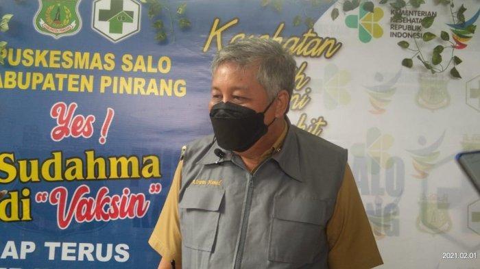 Bupati dan Ketua DPRD Pinrang Batal Divaksin