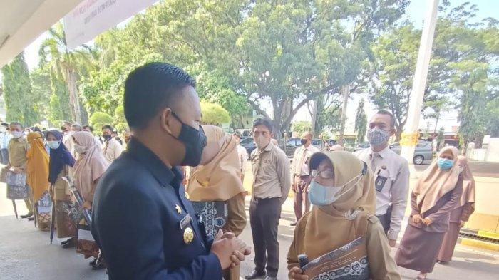 45 CPNS dan 5 PPPK 2019 Pemkab Bantaeng Terima SK
