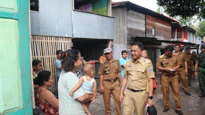 Datangi Lokasi Banjir, Bupati Bantaeng Ilham Azikin Ingatkan Warga Tak Buang Sampah ke Sungai