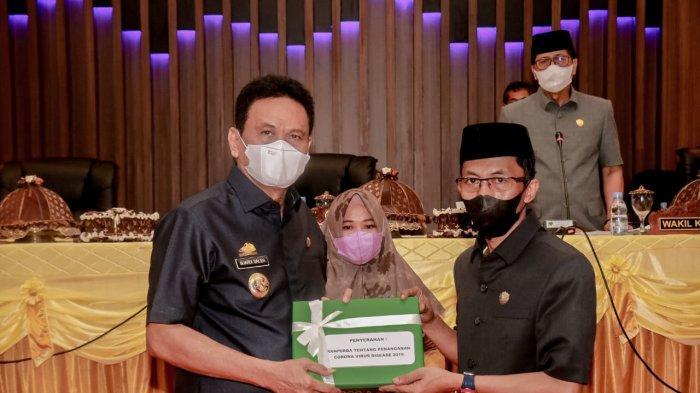 DPRD Barru Terima Ranperda Penanganan Covid-19