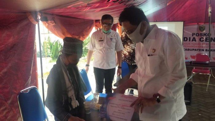 Sembuh dari Corona, Bupati Barru Dampingi Santri Temboro Jawa Timur Pulang ke Kampungnya