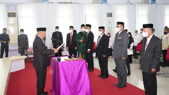 Muslimin Bando Minta Pimpinan Baznas Enrekang Genjot Kesadaran Masyarakat Berzakat