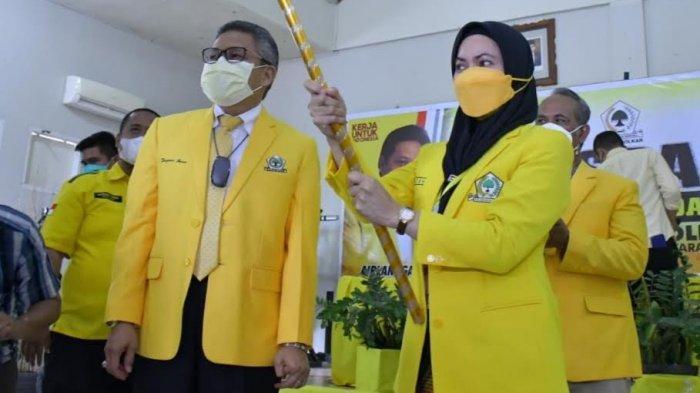 Indah Putri Indriani Pimpin Golkar Lutra, Taufan Pawe Target Menang Pileg, Pilpres dan Pilgub 2024