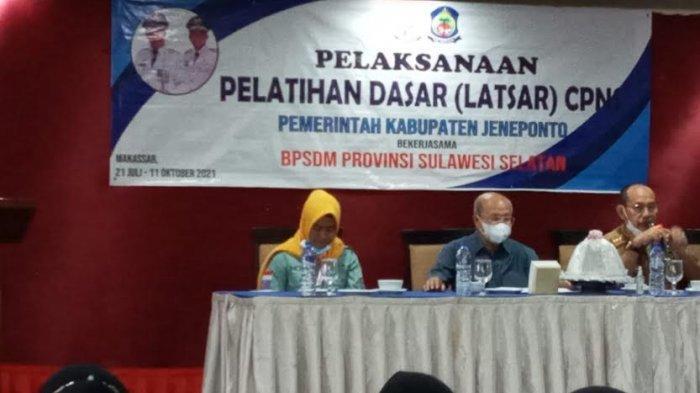 Iksan Iskandar Beri Arahan Peserta Latsar CPNS Kabupaten Jeneponto