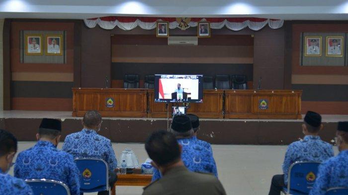Plt Gubernur Sulsel Harap Bupati Jeneponto Disiplin Dalam Bekerja