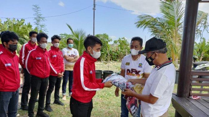 Bupati Jeneponto Semangati Tim Futsal yang Bakal Berlaga di Praporda: Junjung Tinggi Solidaritas
