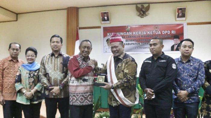 La Nyalla dan 4 Anggota DPD RI Kunjungi Toraja Utara, Bahas Pengembangan Pariwisata