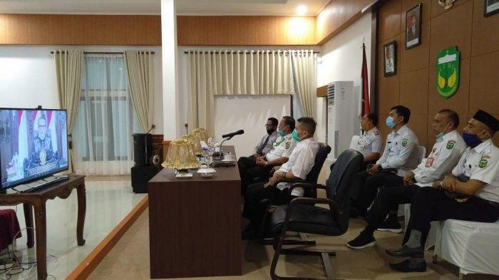Bupati Luwu Rakor Pencegahan Korupsi Sektor Perbankan Wilayah Sulsel Bareng Gubernur