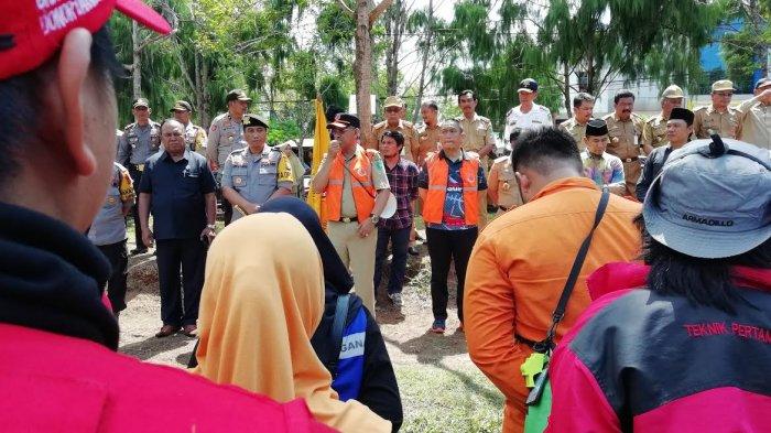 Bupati Luwu Timur Bawa 44 Truk Bantuan Logistik ke Palu Sulteng