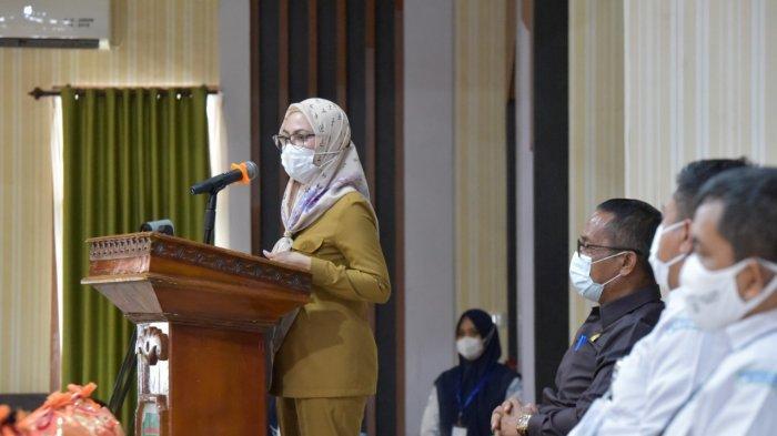 Bupati Lutra Indah Putri Resmikan Sekolah Lapang Gempabumi, Digagas BMKG Makassar