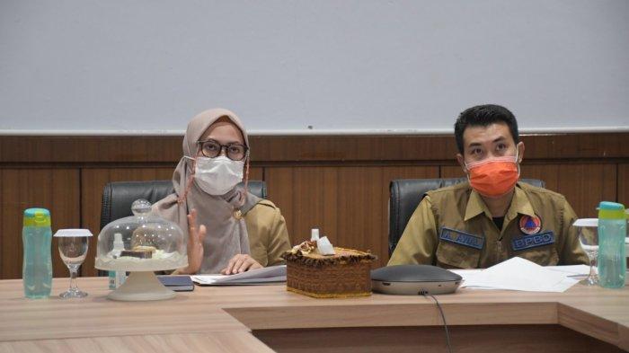 Rapat dengan Kepala BNPB, Indah Putri Indriani Laporkan Penanganan Banjir Bandang Luwu Utara