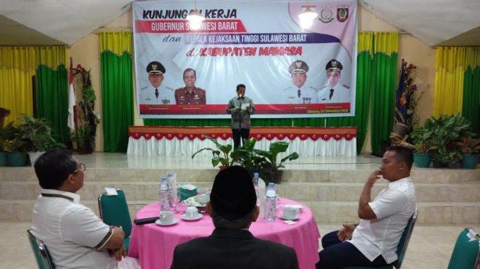 Sambut Gubernur dan Wakajati Sulbar, Bupati Mamasa: Acara Makan-makan