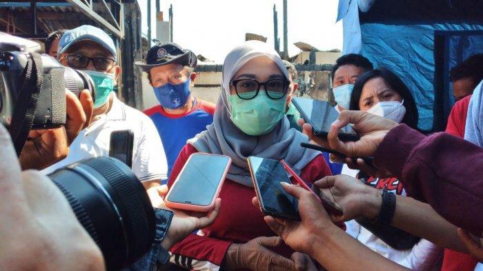 Bupati Mamuju Tinjau Lokasi Kebakaran di Jalan Kelapa Binanga