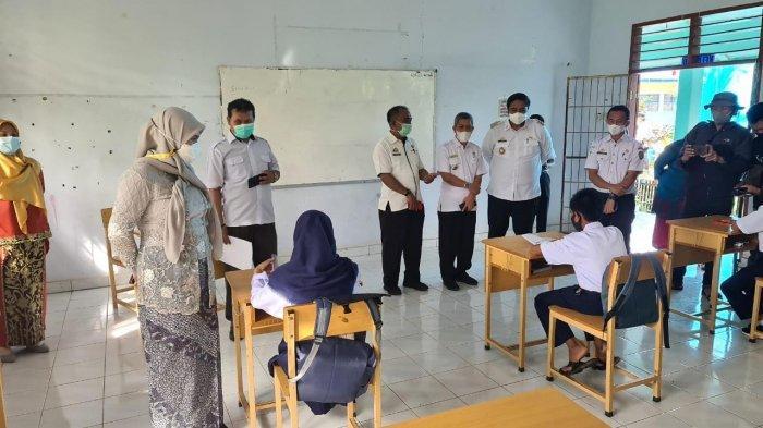 Uji Coba Sekolah Tatap Muka di Maros, Ini Harapan Bupati Chaidir Syam