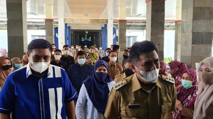 Pekerkenalkan OPD ke Chaidir - Suhartina, Bupati Maros Hatta Rahman Pamit