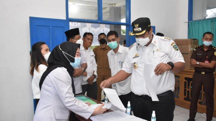 Bupati Maros Luncurkan Pelayanan KTP di Kecamatan