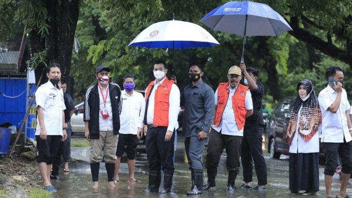 Bupati Pangkep Pantau Titik Banjir