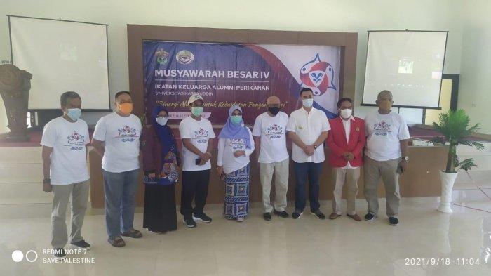 Terpilih Aklamasi Ketua IKA Perikanan Unhas, Yusran Lologau Jadi Bupati Ke-4 Sulsel Jadi Ketua IKA