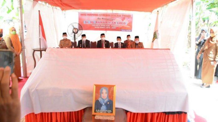 Ketua PDIP Sahariyah Lolo Wafat, Bupati Pinrang: Almarhumah Sosok Pekerja Keras