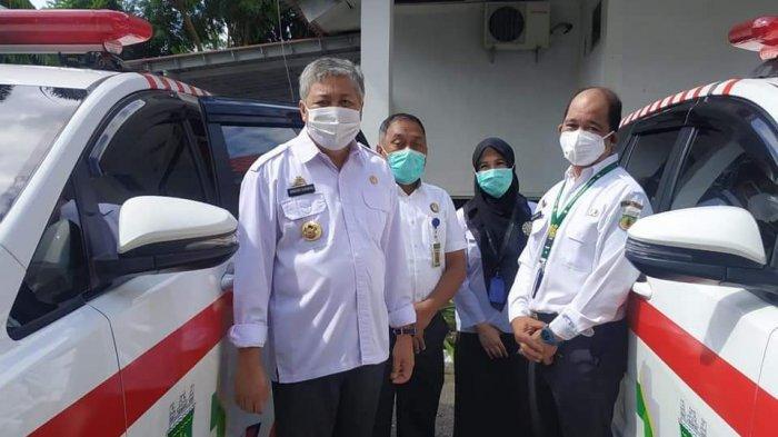 RSUD Lasinrang Dapat Bantuan 2 Unit Mobil Ambulans dari Pemkab Pinrang