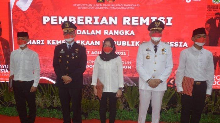 158 Narapidana dan Anak di Rutan Kelas II B Pinrang Terima Remisi di Peringatan HUT ke-76 RI
