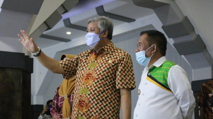 Temui Irwan Hamid, Bupati Majene Kenang Kepedulian Pinrang Saat Gempa