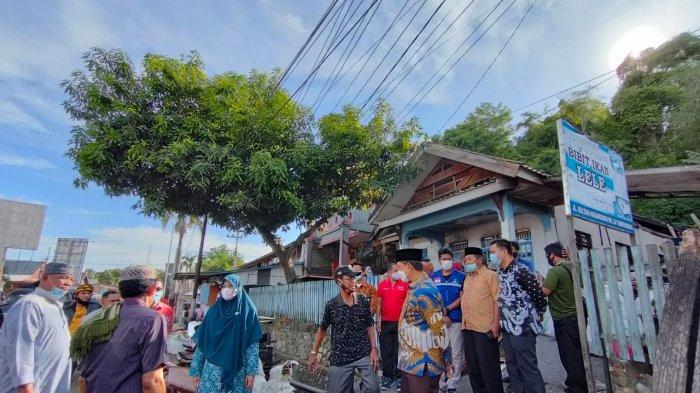 Bupati Wajo Kunjungi Korban Kebakaran di Jl Sultan Hasanuddin Sengkang
