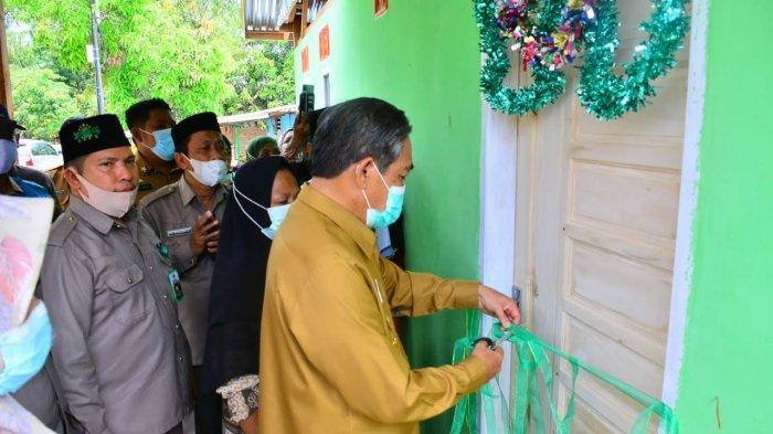 Korban Kebakaran di Watang Pulu Sidrap Kini Punya Rumah Baru
