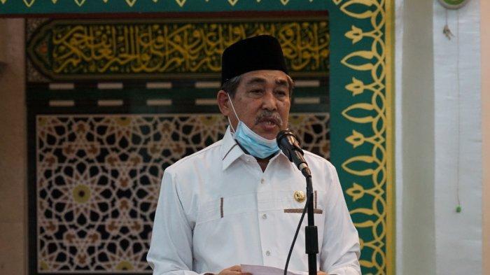 Bupati Sidrap Tarawih Perdana di Masjid Agung Pangkajene