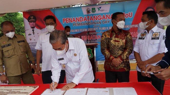 Pelabuhan Darat Bakal Dibangun di Kabupaten Sidrap, Luas Lahan 2 Hektar