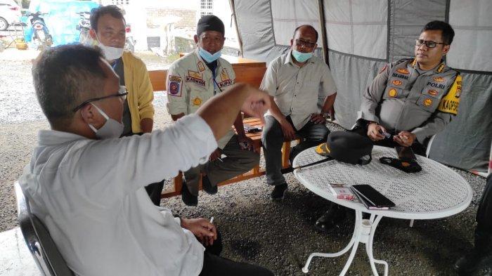 Bupati Soppeng Andi Kaswadi Razak Antar Langsung Bantuan untuk Korban Gempa Sulbar