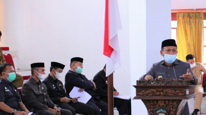 Syamsari Kitta Tanggapi Pandangan Umum Fraksi Anggota DPRD Takalar