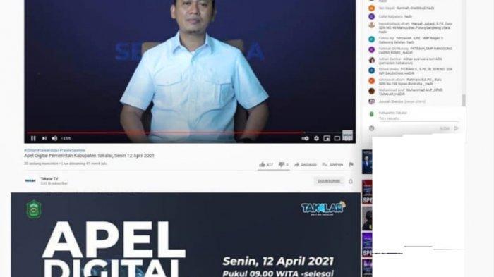 Bupati Takalar Launching Program Apel Digital